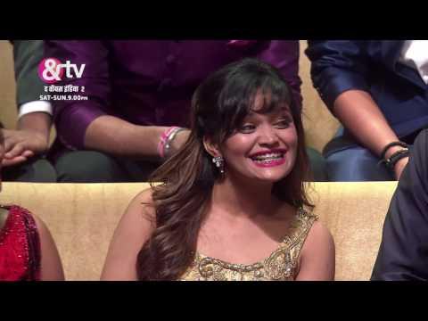 Host Gunjan Mimics Dharam Paaji | Moment| Grand Finale | The Voice India S2 | 12th March | 9 PM