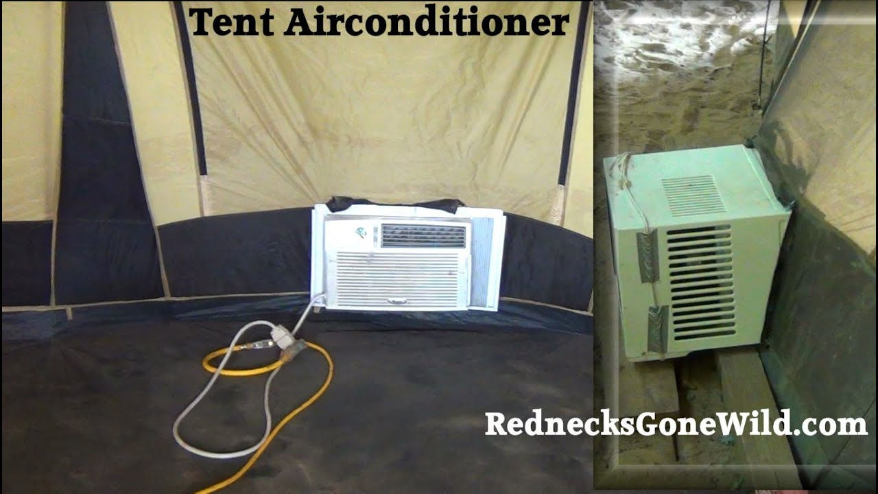 Redneck Tent Air Conditioning (How To)   #837A48