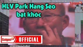 HLV Park Hang-seo bật khóc khi xem màn biểu diễn này