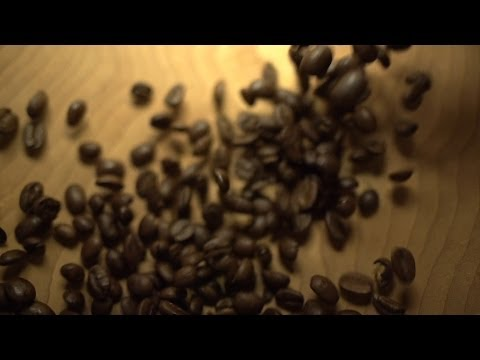 Beachfront B-Roll: Coffee Beans Fast Fall (Free to Use HD Stock Video Footage)