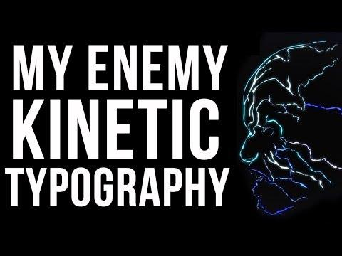Electro's Theme Kinetic Typography