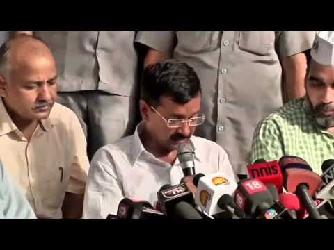 Aam Aadmi Party Full Press Conference : National Executive Resolutions