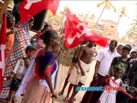 Kerala Election 2014 :  Mariyama Chettathi's dance performance