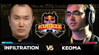 Red Bull Kumite 2016 : Infiltration vs. Keoma - Top 16