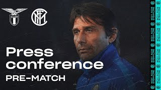 LAZIO vs INTER | Antonio Conte Pre-Match Press Conference LIVE 🎙⚫🔵?? [SUB ENG]