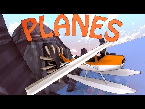 Minecraft | FIGHTER PLANES MOD Showcase! (Helicopters mod, Planes Mod, War Mod)