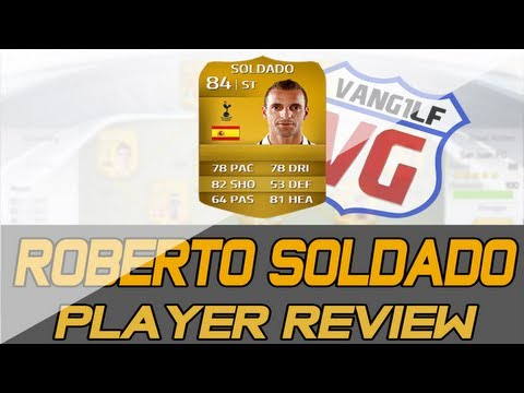 FIFA 14 FUT Roberto Soldado Player Review *84 Rated* | Online Goals [ Ultimate Team ]