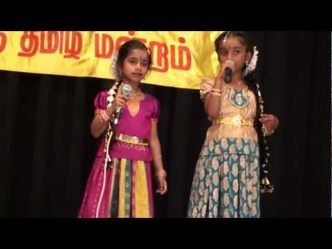 BATM Chithirai Thiruvizha 2012 - Roshni & Ananya Karaoke