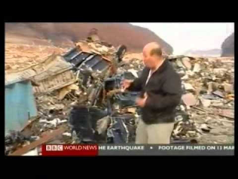 Japan 2011 Earthquake 18 - Victims & Survivors Day 2 - BBC News Reports 13.03.2011