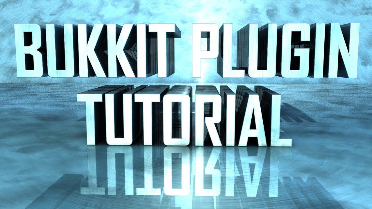 Writing Bukkit Plugins