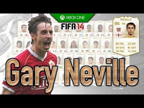 FIFA 14 | Legend Review | Gary Neville !
