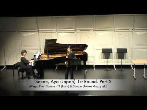 Sakae, Aya (Japon) 1st Round. Part 2