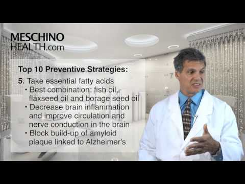 Nutrition Prevents Alzheimer's Disease: Top 10 Preventive Strategies
