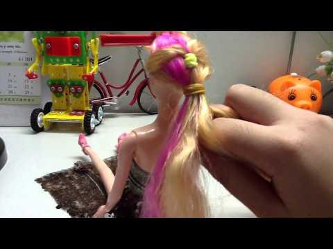 Làm tóc búp bê Barbie