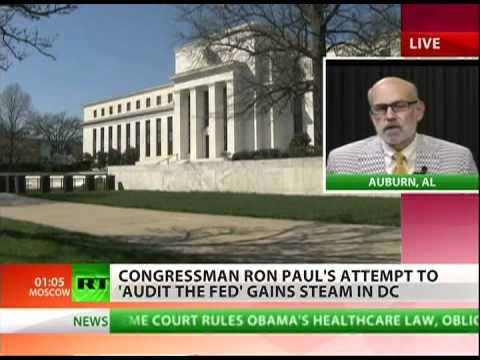 Ron Paul continues fight to audit the Fed