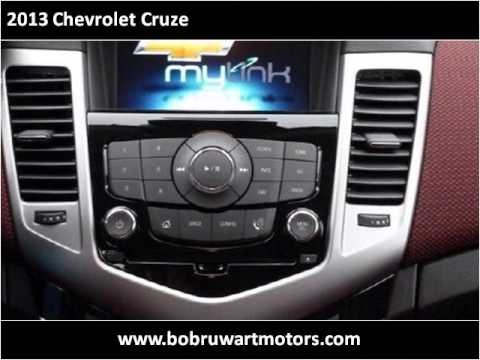 2013 Chevrolet Cruze New Cars Cheyenne WY