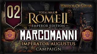 Total War Rome II: Imperator Augustus ~ Marcomanni Campaign #2