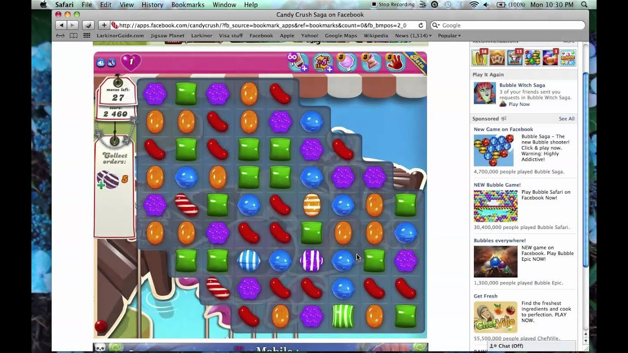 What Is The Object Of Level 130 Of Candy Crush