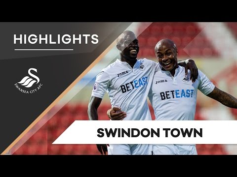 VIDEO: Watch Andre Ayew's goal in Swansea win over Swindon Town