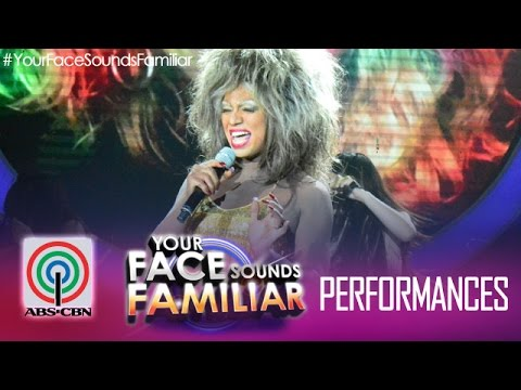 Your Face Sounds Familiar: Nyoy Volante as Tina Turner -