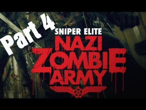 "Sniper Elite ""Nazi Zombie Army"" - Library of Evil (Level 4) Walkthrough"