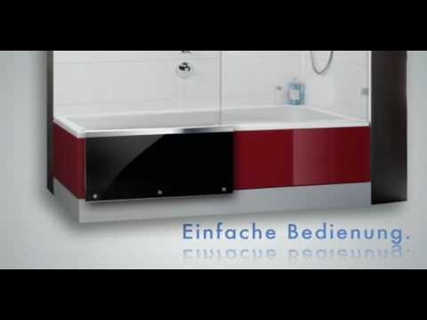 easy in die dusche zum baden von repabad youtube. Black Bedroom Furniture Sets. Home Design Ideas