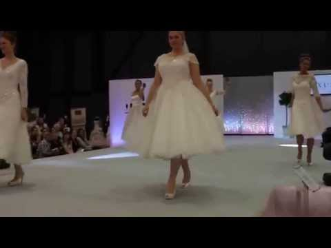 Cutting Edge Bridalwear Maria Short Fun Funky & Unique Wedding Dress In Ivory