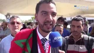استقبال مخترع مغربيّ مُتوّج