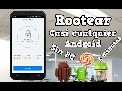 Rootear cualquier Android sin Pc Lollipop, Kitkat y Jelly Bean | Fácil y Rápido