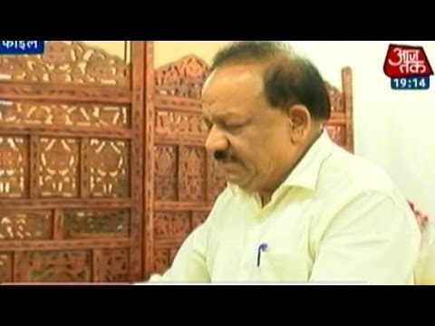 I am not against sex education, clarifies Dr Harsh Vardhan