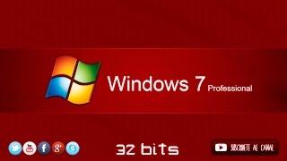 Windows 7 Professional 32 Bits En Español Imagen Iso 1