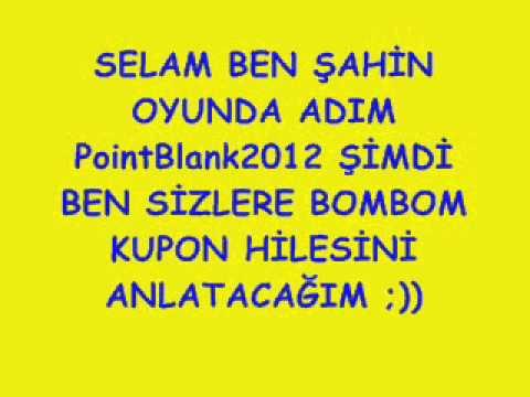 BOMBOM KUPON HİLESİ ANLATIMI ;))
