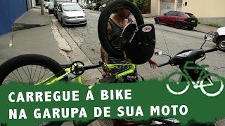 Bikers Rio Pardo   Vídeos   Como levar sua bicicleta na garupa de uma moto