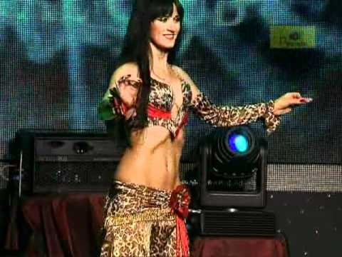 1st place in competition &quot;Queen of the Pyramid&quot; 2010. Bellydancer Dovile from Lithuania (Kaunas)