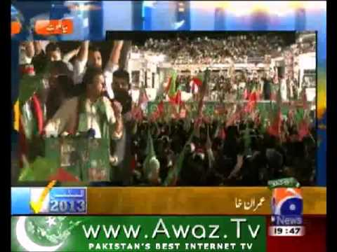 PTI Sialkot Jalsa New Pakistan will be Iqbal's Pakistan - 06-May-2013