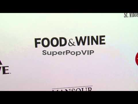 Atmosphere: Signage at 2012 Los Angeles Food and Wine Fes...