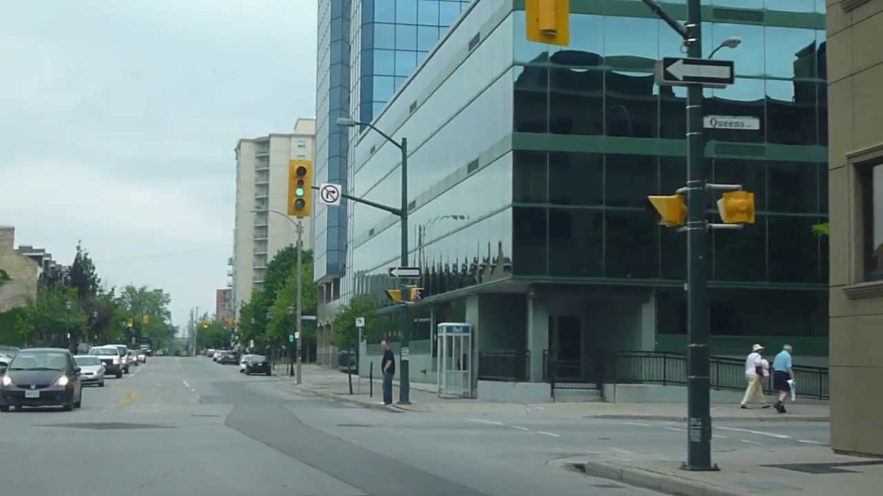 Downtown london ontario going west on dundas youtube for 8 cuisine london ontario