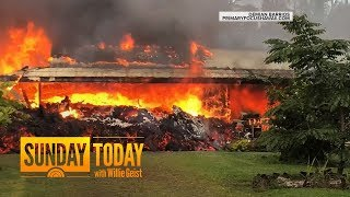 Hawaii Residents Face Uncertainty As Lava, Toxic Gas Continue To Spew | Sunday TODAY