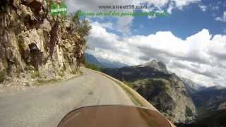 Roadbook moto Alpes de Haute Provence : Le Col d'Allos