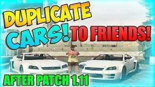 "GTA V Online How To Duplicate Cars! ""Duplication Glitch"