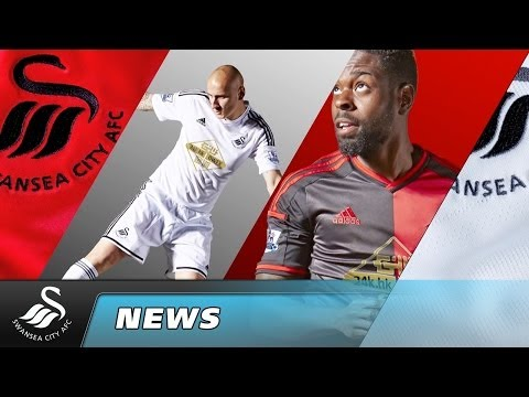 Swans TV - 2014-2015 Swansea City kit launch