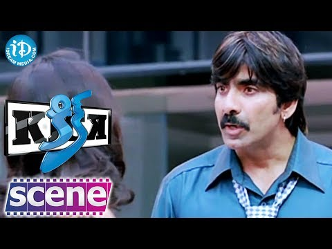 Ravi Teja, Iliana, Aasheeka Nice Comedy Scene - Kick Movie