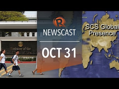 Rappler Newscast: US spying, DAP legality, Syria's chemical arms