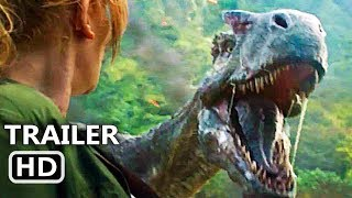 JURASSIC WORLD 2 Official Trailer (2018) Chris Pratt Action Movie HD