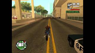 GTA San Andreas Codes Pricinpaux + Course Poursuite ! [HD