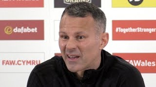 Wales 1-2 Denmark - Ryan Giggs Full Post Match Press Conference - UEFA Nations League