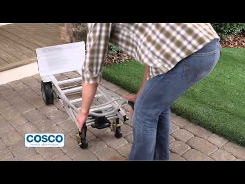 Cosco 3-in-1 Convertible Aluminium Sack Truck