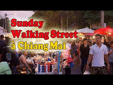 chiang mai sunday walking street
