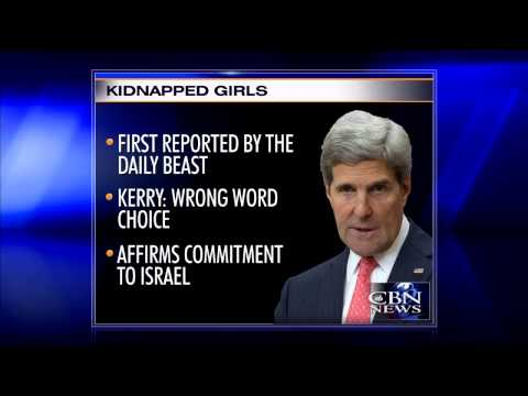 Kerry Backpedals on Israel 'Apartheid' Remark