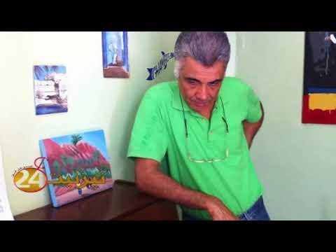 الفنان محمد موزي مع عتيق بن شكير